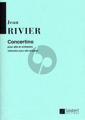 Rivier Concertino pour Alto et Piano