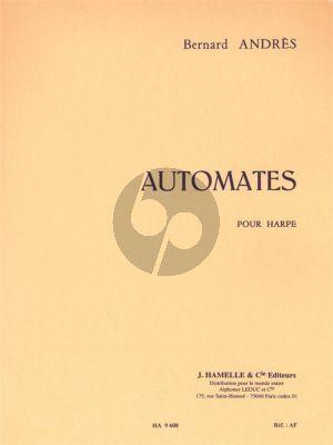 Andres Automates pour Harpe (12 Pieces en forme de Danses Anciennes)