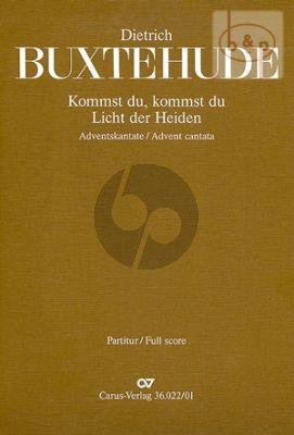Kommst du, Licht der Heiden (BuxWV 66) (SSB- 2 Vi.- 2 Va.-Bass-Bc)