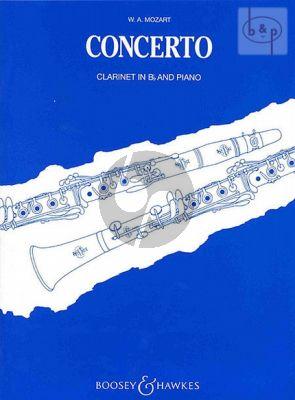 Concerto A-major KV 622 Clarinet[Bb]-Piano
