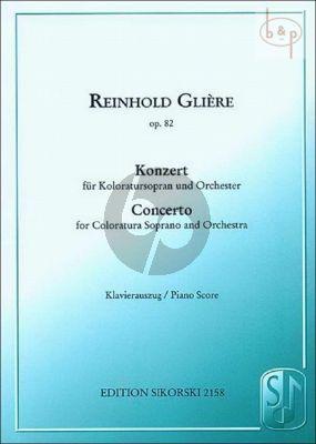 Konzert Op.82 Klavierauszug