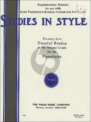 Studies in Style Piano Solo