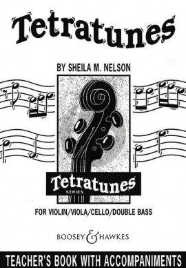 Nelson Tetratunes Teachersbook (with Piano Coompaniments)