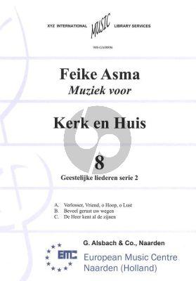 Asma Kerk en Huis Vol. 8 Geestelijke Liederen 2 voor Orgel