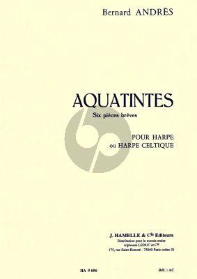 Andres Aquatintes pour Harpe (6 Pieces Breves)