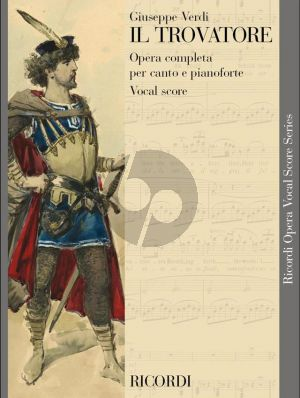 Verdi Il Trovatore Vocal Score (it./engl.)