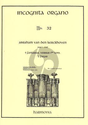 Kerckhoven 5 Fantasias 1mi toni-2 Fugas orgel (Incognita Organo 32)
