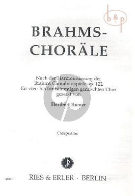 Chorale op.122