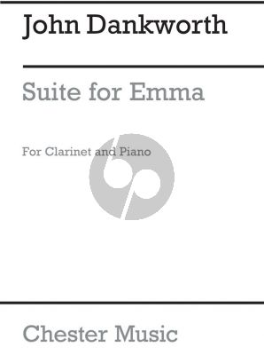 Dankworth Suite for Emma Clarinet[Bb]-Piano