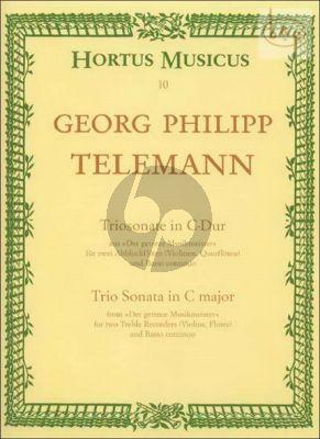 Trio Sonata C-major (Xantippen Sonata)