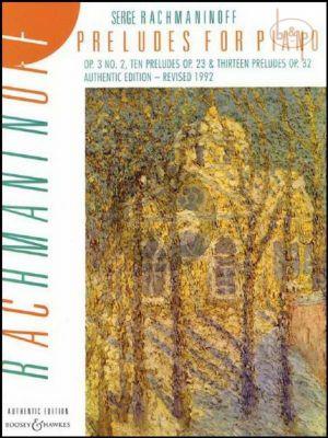 Preludes Complete Op.3 / 2 -Op.23 -Op.32