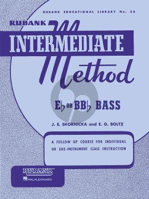 Skornica Intermediate Method Bb or Eb Bass - Tuba