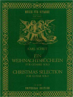 Album Ein Weihnachtsbuchlein / Christmas Selection (Gitarre) (Karl Scheit)