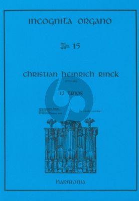 Rinck 12 Trios Orgel (Kooiman)