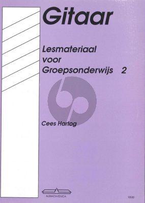 Hartog Lesmateriaal voor Groepsonderwijs Vol.2 Gitaar