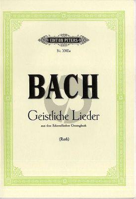 25 Geistliche Gesange aus Georg Christian Schemmelis musikalischem Gesangbuch, Leipzig 1736 Singstimme-Klavier