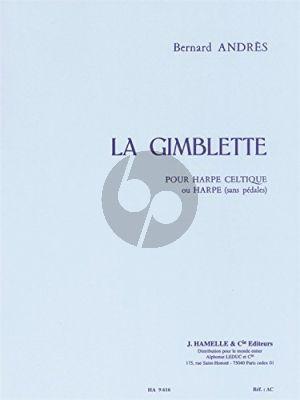 Andres La Gimblette pour Harpe (Variations sur un theme de style Ancien)