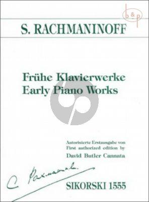 Frühe Klavierwerke