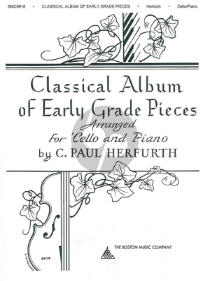 Album Classical Album of Early Grade Pieces Cello and Piano (arranged by C. Paul Herfurth)