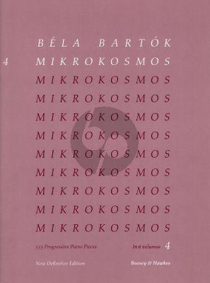 Mikrokosmos Vol.4 Piano Nos.97 - 121