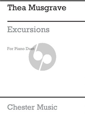 Musgrave Excursions for Piano 4 hds