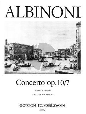 Concerto F-dur Op.10 / 7 Violine-Streicher-Bc