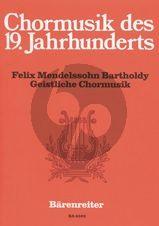 Mendelssohn Geistliche Chormusik Gemischter Chor