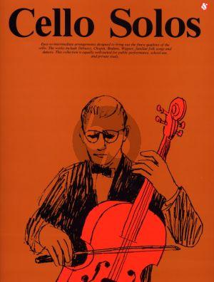 Cello Solos (Easy-to-Intermediate Arrangements)