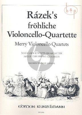 Frohliche Violoncello-Quartette (after the String Quartets)