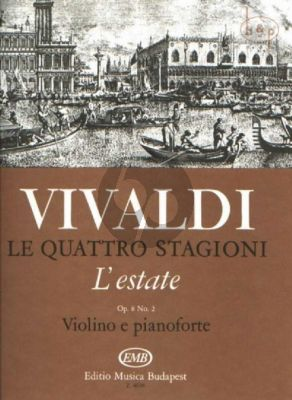 Concerto Op.8 No.2 (RV 315) (L'Estate) (4 Seasons)