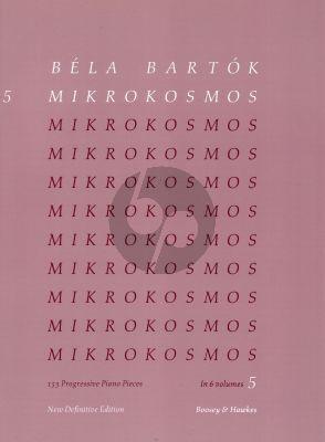Bartok Mikrokosmos Vol.5 (Nos.122-139) Piano