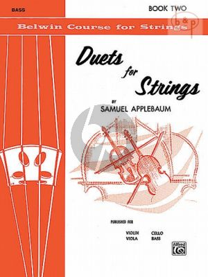 Duets for Strings Vol.2 (Bass)
