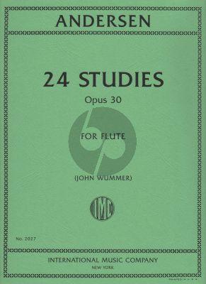 Andersen 24 Studies Op.30 for Flute (John Wummer)