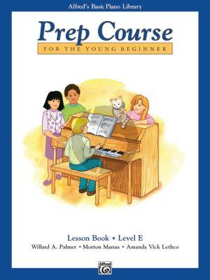 Alfred Basic Prep Course Lesson Book Level E