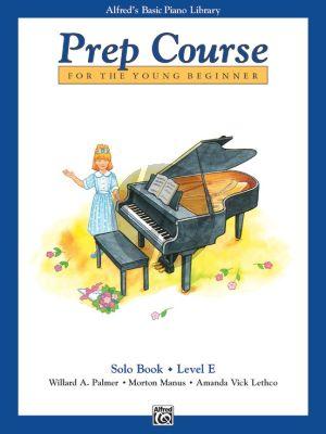 Alfred Prep Course Solo Book Level E