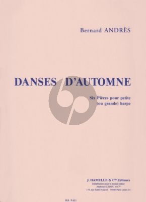 Andres Danses d'Automne Harpe (interm.-adv.level)