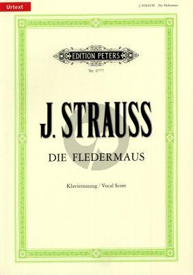 Strauss Die Fledermaus Klavierauszug (Joachim Freyer)