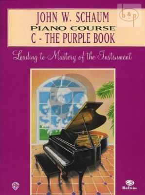 Piano Course Book C The Purple Book