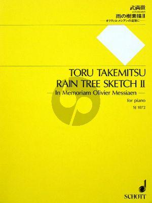 Takemitsu Rain Tree Sketch II (in Memoriam Olivier Messiaen)