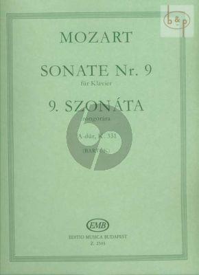 Sonata A-Major KV 331