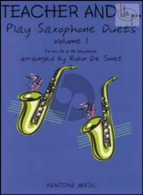 Teacher and I Vol.1 (Play Saxophone Duets)