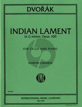 Dvorak Indian Lament g-minor Op.100 Cello and Piano (transcr. by Gaspar Cassado)
