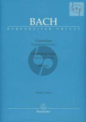 Ouverture C-dur BWV 1066 (2 Ob.-Bsn.- 2 Vi.- Va.-Bc)