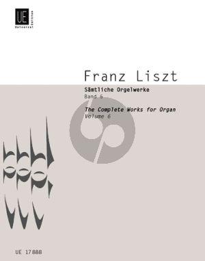 Liszt Samtliche Orgelwerke Vol.6 (Martin Haselböck)