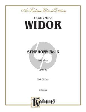 Widor Symphony No.6 G-minor Op.42 Organ