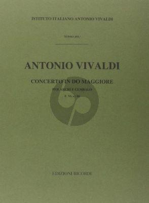 Vivaldi Concerto C-major RV 114 (F.XI n.44) for Strings and Bc (Score) (G. F. Malipiero)