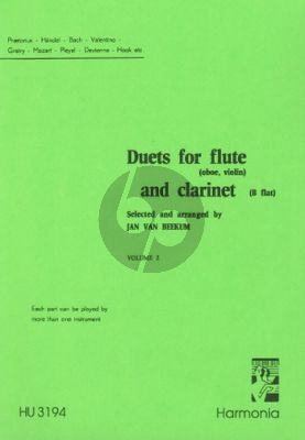 Duets for Flute and Clarinet Vol.2