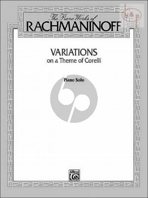 Variations on a Theme of Corelli Op.42 Piano Solo