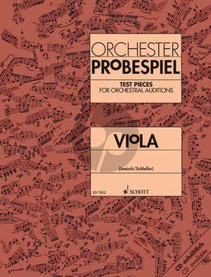 Orchester Probespiel Viola