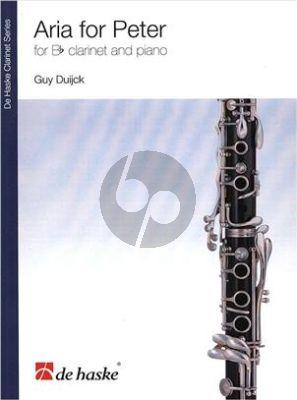 Duyck Aria for Peter klarinet-piano
